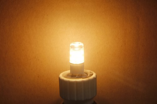 JokeChen G8 LED Bulb 110V-120V,2.5W, T4 G8 LED Halogen Xenon Replacement Light Bulb, 25W Equivalent, Under-Counter Lights, Puck Lights, Warm White 2700K, 5-Pack by JokeChen (Image #5)