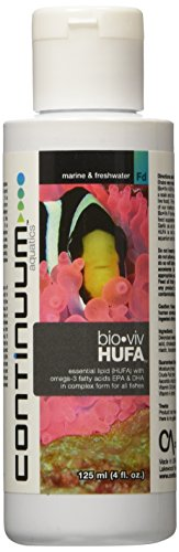 Continuum Aquatics ACO30597 Bio Viv Hufa Sw/Fw Vitamins for Aquarium, 4-Ounce