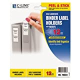 C-Line Self-Adhesive Binder Labels by C-Line