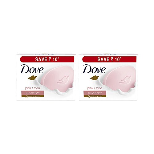 Dove Pink Rosa Beauty Bathing Bars, 3x100g (Pack of 2, Buy 2 at Rs 364)