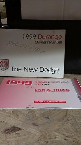 1999 dodge durango owners manual amazon com books rh amazon com 2003 Dodge Durango 2003 Dodge Durango