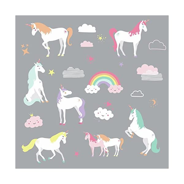 RoomMates Unicorn Magic Peel And Stick Wall Decals 4