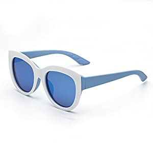 Yorkville- by Addicted Brands. Blue Frame Sunglasses
