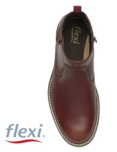 Uomo Flexi Shoes marroon Stivali Marrone S7wBP7qAx