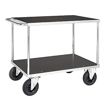 Mesa carrito transportador (Piso, con ruedas, estable kommi sionier carro carro de taller carro de laboratorio: Amazon.es: Bricolaje y herramientas