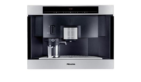 Miele CVA 3660 ED Clst Máquina espresso Acero inoxidable 1,5 L - Cafetera (Máquina espresso, 1,5 L, Acero inoxidable): Amazon.es: Hogar