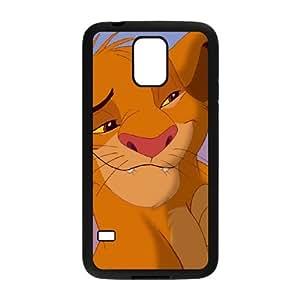 Samsung Galaxy S5 Cell Phone Case Black Disney The Lion King Character Simba 001 VA2484354