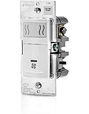 Leviton Humidity Sensor and Fan Control, Single Pole