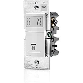 Leviton Iphs5 1lw Decora In Wall Humidity Sensor Amp Fan