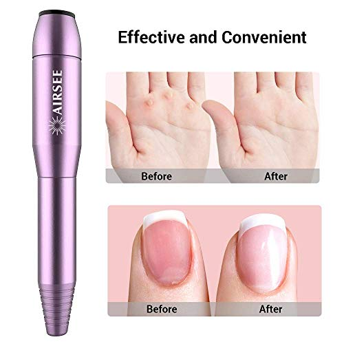 Portable Electric Nail Drill Professional Efile Nail Drill Kit For Acrylic, Gel Nails, Manicure Pedicure Polishing Shape Tools with 11Pcs Nail Drill Bits and Sanding Bands (Purple)