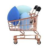 Makeup Blender Beauty Sponge 3 Piece Set with Mini Shopping Cart...