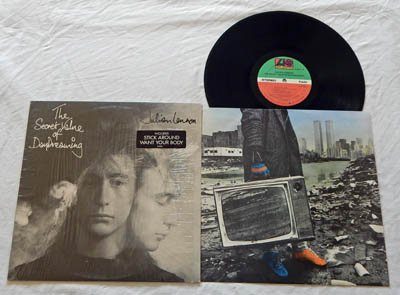 Julian Lennon LP The Secret Value Of Daydreaming (TWO) - Atlantic Records 1986 - Mint in Shrink Wrap w/Song Sticker! - STERLING - Guest Billy Joel -