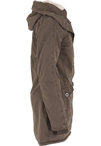 Urban Verde Olive Washed Jacke Garment Long Parka Mujer Classics Chaqueta 6wPZv