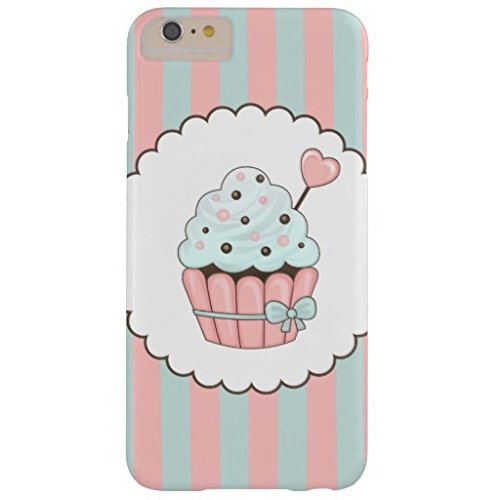Phone Covers for iphone SE/iphone 5/5s Cute Cupcake Pink Mint Blue Design Barely There Phone Case (Iphone 5s Barely There)