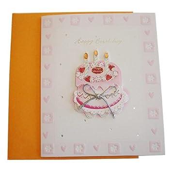 Amazon.com: 3d Wish tarjeta de visita – Feliz cumpleaños 2 ...