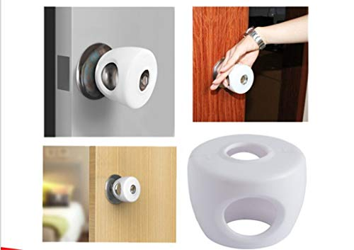 Botrong Door Lever Lock Child Proof Doors Handles Adhesive Child Safety by Botrong_Home&Kitchen (Image #4)