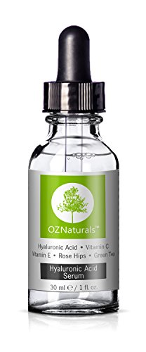 OZNaturals - Hyaluronic Acid Serum With Vitamin C – The Most Effective Anti Aging Serum - Anti Wrinkle Serum Will Provide The Dramatic Youthful Results You've Been Looking For!, 1 oz