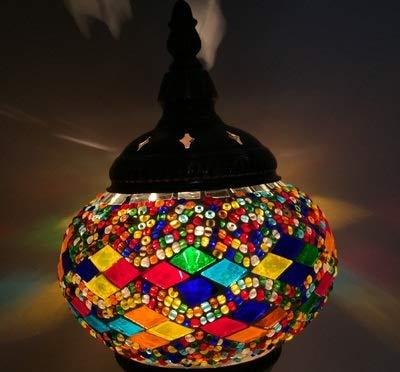 Bombilla Led Halógenomás Reciente Lámpara De Mesa De Mosaico ...