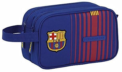 Safta Neceser F.C. Barcelona 17/18 Oficial Grande 260x125x150mm: Amazon.es: Juguetes y juegos