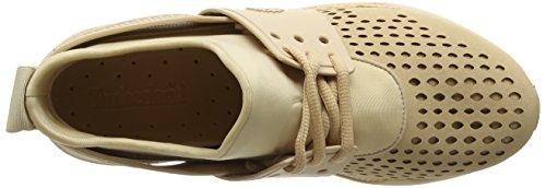 Oxford Hazelnut L45 Zapatos Marrón Cordones Up Kiri Timberland Mujer Microfiber de para qTvvxY