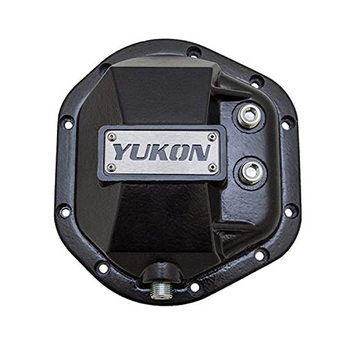 (Yukon Gear YHCC-D44 Black Hardcore Differential Cover)