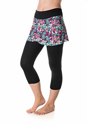 Skirt Sports Hover Capri Skirt, Holiday Print/Black, ()