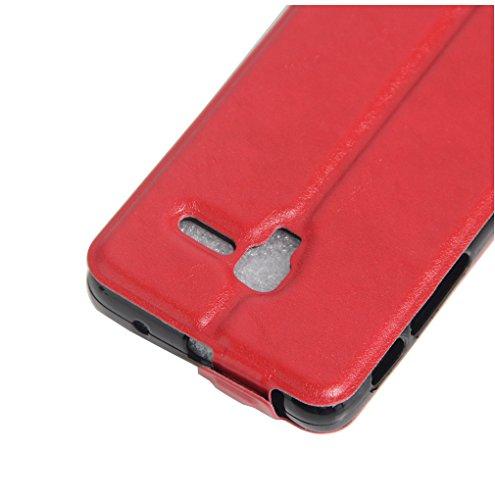 Funda Alcatel POP 3(5.0),Manyip Caja del teléfono del cuero,Protector de Pantalla de Slim Case Estilo Billetera con Ranuras para Tarjetas, Soporte Plegable, Cierre Magnético D