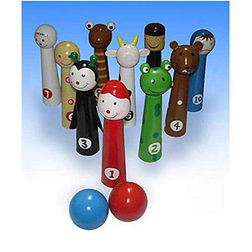 Passover 10 Plagues Ten Pin Bowling For Children/Kids