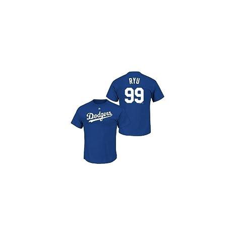 official photos 715f0 45d67 Amazon.com : Majestic Los Angeles Dodgers Hyun-Jin Ryu Name ...