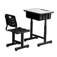 ShowMaven Student Desk and Chair Combo, Height Adjustable Children