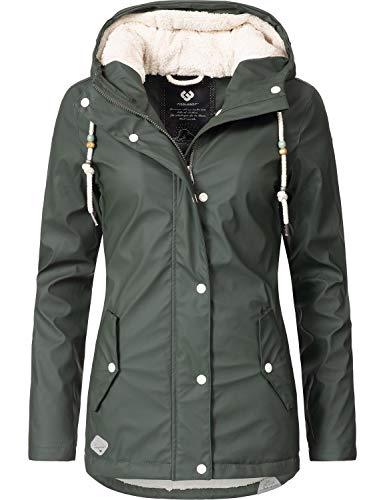xl Mujer De Verde Abrigo Invierno Xs Parka Para Marge 4 Colores Ragwear PwYEva
