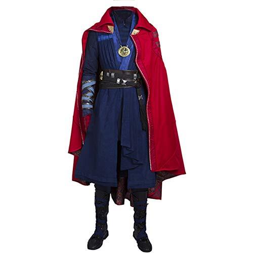 Dr Strange Costumes Pattern - Mens Strange Cosplay Full Set Costumes