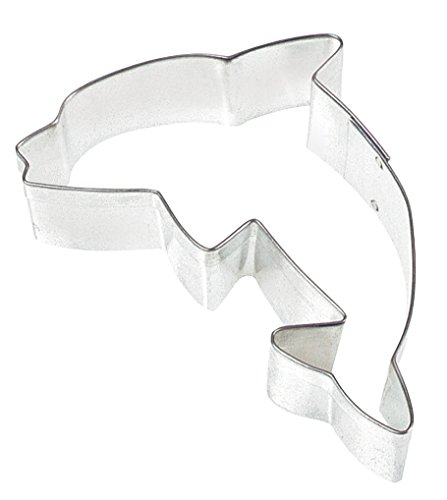 Fox Run 2295 Dolphin Cookie Cutter, 3-Inch, Tin Plated Steel