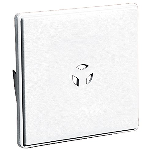 Builders Edge 130110008001 Surface Block, White