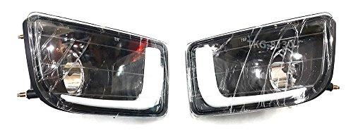 L.E.D LED Daytime Running Light Bar DRL Daylight Kit Day Driving Fog Lamp Isuzu D-MAX Dmax Pickup 2012 2013 2014 2015 V.2