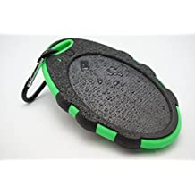 Solar Phone Charger - Borch Solar Panel Charger Cell Phone Portable Charger 5000mah Power Bank and Travel Charger. Utilizing Both Solar And/or Electrical Energy to Fully Charge Wireless Devices on the Go. Shockproof, Dustproof & Rainproof Provides the Freedom to Travel Anywhere with the Borch Solar Power Charger. External Battery Pack Compatible with Iphone 6 5.5 4.7 Inch 5s 5c 5 4s 4, Ipad Air, Other Ipads, Ipods(apple Adapters Not Included), Samsung Galaxy S6, S5, S4, S3, Note 3, Note 4 Galaxy Tab 3, 2, Nexus 4, 5, 7, 10, HTC One, One 2 HTC One M8 ,Motorola Atrix, Droid , Lg Optimus, Most Kinds of Android Smart Phones and Tablets,windows Phone, Gopro Camera and More Other Kindle, Nook, and All Standard USB 5v/1a Devices. (Black/green)