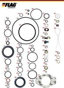 Delphi Kit reparación DPC Bombas Lucas para automoviles turboalimentados: Amazon.es: Coche y moto