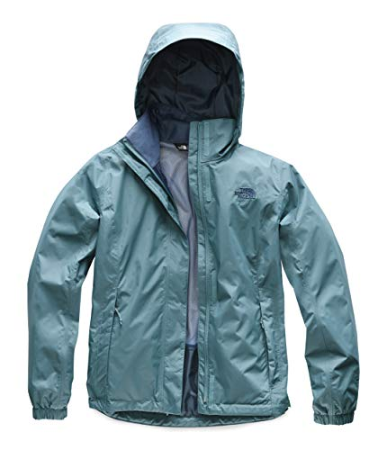 The North Face Women's Resolve 2 Jacket, Storm Blue, Size M (Best Patagonia Jacket For Snowboarding)