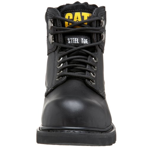 "Caterpillar Men's 2nd Shift 6"" Steel Toe Boot,Black,10.5 M US"