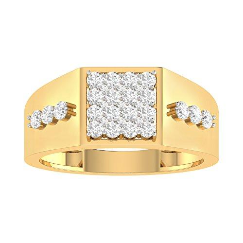PC Jeweller The Chitresh 18KT Yellow Gold  amp; Diamond Rings