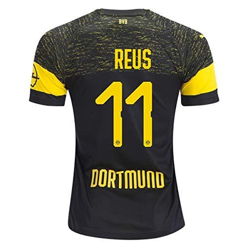 baca4534086 ... Christian 22 BVB Home Adult Soccer Yellow. North-V Reus Borussia  Dortmund 2018-2019 Away Jersey Men s Color Black Size L