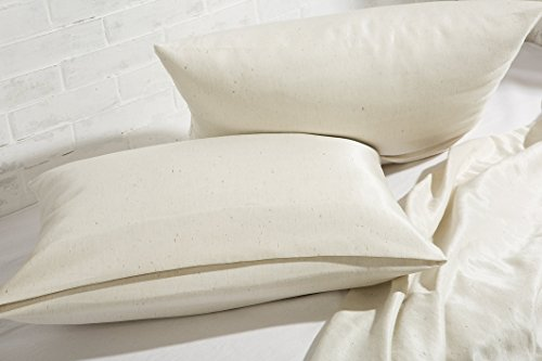 Home of Wool / Natural Mulberry Silk Pillowcase / Envelope o