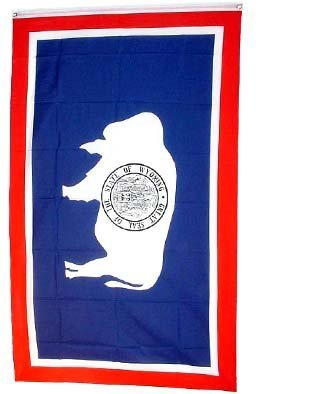 (State Flag New Large 3x5 Wyoming US USA American Flags)