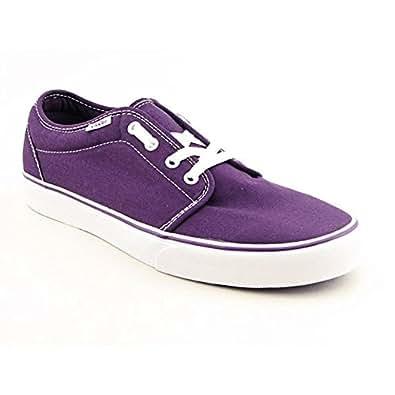 Vans 106 Vulcanized Men US 12 Purple Fashion Sneakers