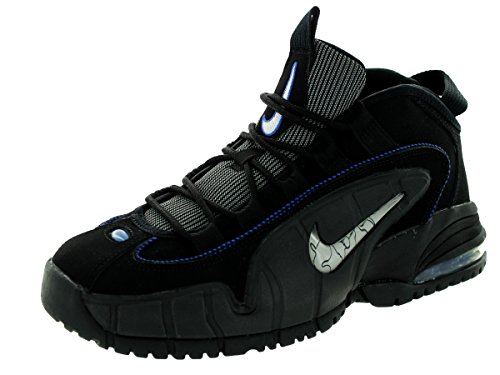 nike-kids-air-max-penny-le-gs-black-white-gm-ryl-mtllc-slvr-basketball-shoe-6-kids-us