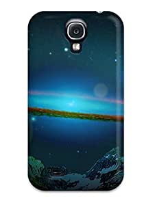 Durable Protector Case Cover With Space Art Hot Design For Galaxy S4