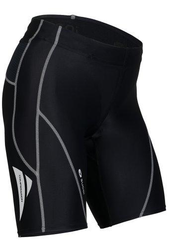 Sugoi Women's Piston 2 Tri Pocket Short (Black, (Sugoi Womens Cycle)