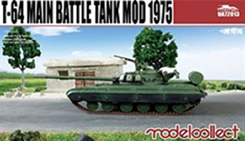 Model correction 1/72 t-64 main battle tank Mod. 1975 plastic model by Model correction