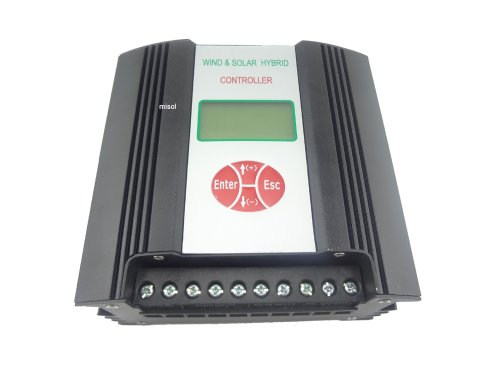 MISOL Hybrid Solar Wind Charge Controller 600W 24VDC/ wind charge controller / wind regulator / solar regulator by MISOL
