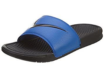 b163a907136f7a Image Unavailable. Image not available for. Color  Nike Men s Benassi  Swoosh Slide Sandal ...